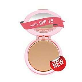 Bright beauty compact powder