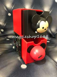 *7 -11 × Disney 迪士尼Tsum Tsum 3D造型米奇老鼠Mickey Mouse百變組合擺設盒子公仔層層疊