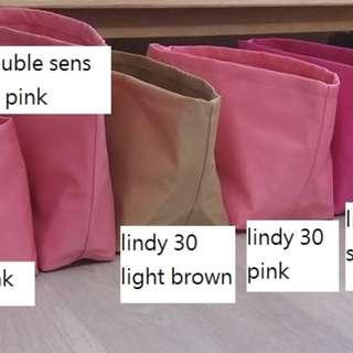 hermes inner bag bag in bag 內袋 袋中袋  KELLY 28 BROWN $288-> $248