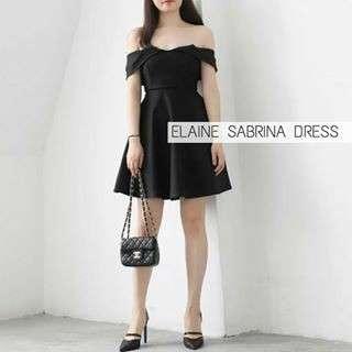 Elaine Sabrina Dress
