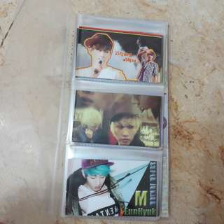 SUPER JUNIOR 2R CARD 60pcs LEE HYU KJAE 李赫宰