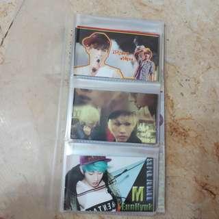 SUPER JUNIOR 2R CARD 60pcs LEE HYU KJAE 李赫宰