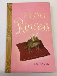 English book - The Frog Princess by E.D. Baker