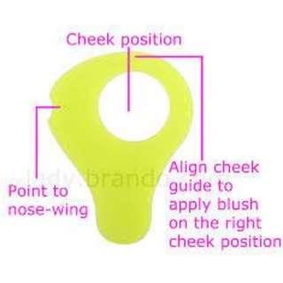 cheek guide