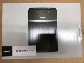 Bose soundtouch 10 BLK/WHT