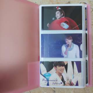 SUPER JUNIOR 2R CARD 60PCS