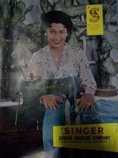Poster Lama majalah tahun 1961