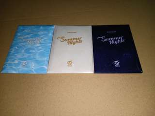 [WTS] TWICE Summer Night Preorder Benefit Pc Set