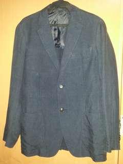 UNIQLO Denim Blue Coat