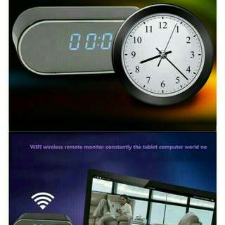 Alarm Clock with Hidden Camera (support Wi-Fi Network)
