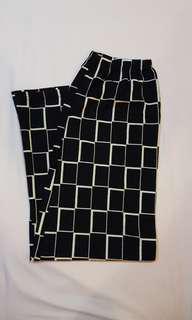Straight Cut Maxi Monochrome Skirt