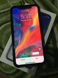 iPhone X 256GB Globelocked