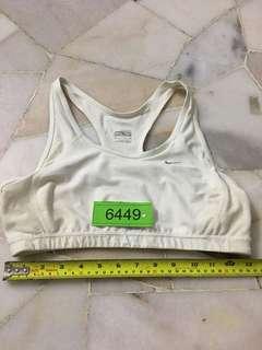 Nike Sport Bra Size M Non Padded no 6449