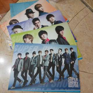 SUPER JUNIOR POSTER SET