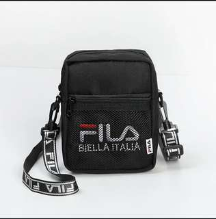 Authentic fila  Small Sling Bag (Brand new and instocks )