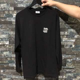 AUTHENTIC UNDEFEATED Black Long Sleeved Tee