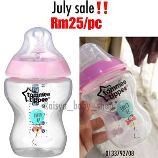 Tommee Tippee 9oz pink ballon