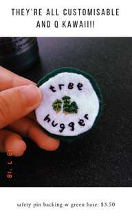 Embroidery merit badges