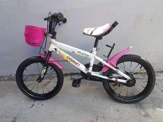 Preloved Girl Bike for 3-7 years old