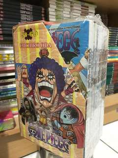 Komik One Piece set 51-60 ORI (masi segel)