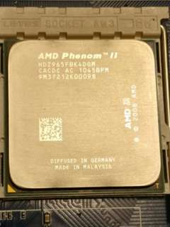 AMD Phenom II X4 965 CPU Black Edition