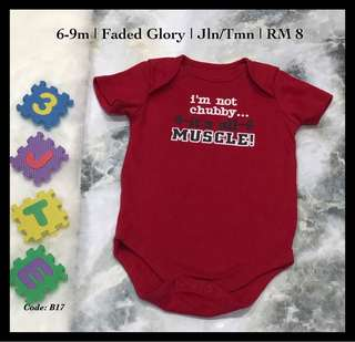 Red Baby Rompers