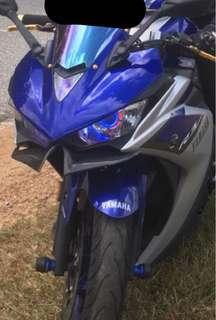 Yamaha R3 Angel eyes Headlights
