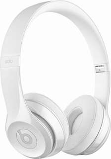 Beats Solo3 Wireless On-Ear Headphones (Gloss White)