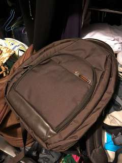 Samsonite  Backpack Laptop  Brown Travel Luggage School Work