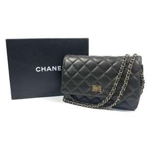 絕版🔥二手 CHANEL 2.55 黑金 wallet on chain