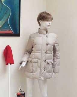 BULU ANGSA👍 UNISEX Winter Coat Silver