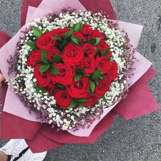 Red Roses Bouquet (20)