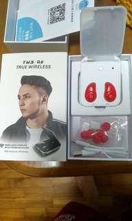 Wireless 2000Mah earpiece