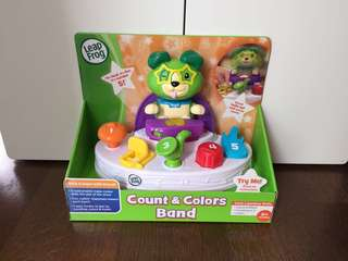 Brand new in Box Leapfrog Scout's Count & Colors Band
