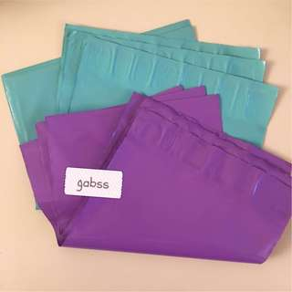 🚚 [INSTOCK] Glossy Coloured Polymailers