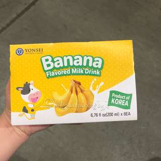 Yonsei Milk Banana