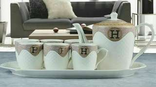 Hermes Coffee Set