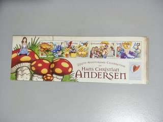 Singapore Stamps Hans Christian Andersen