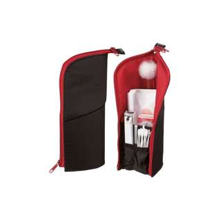Upright Standing Makeup Pouch