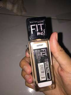 maybelline foundation fit me 125