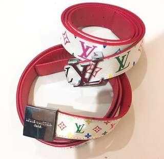 LV belt red
