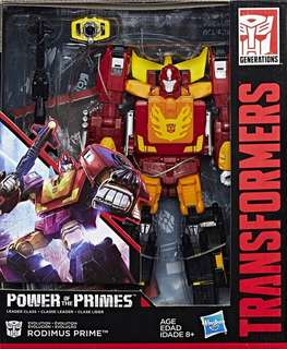 POWER OF THE PRIMES RODIMUS PRIME (LEADER CLASS)