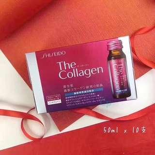🇯🇵Shiseido 資生堂the collagen膠原蛋白飲🍳10支x50ml ‼️