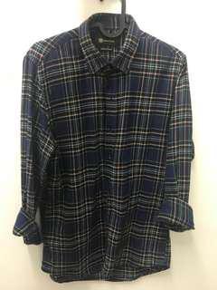 Massimo Dutti checked shirt