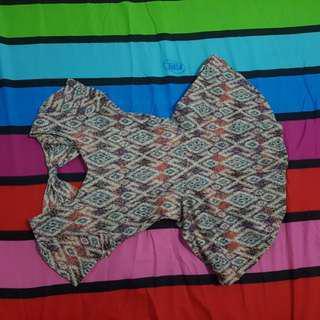 Batik Peplum