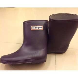 Stample雨鞋 - 紫 16cm