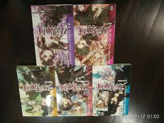 Sword art online light novel (CHINESE)
