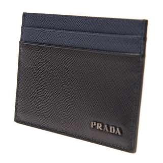 Prada 卡片套 產品編號:2MC149 C5S F0G52 牛皮 黑色 Size:長 10 x 高 8 cm Full Set Real and New