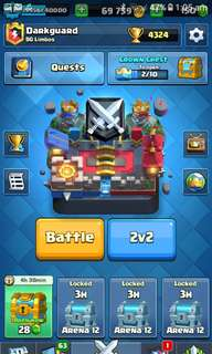 Clash Royale League 2 Account