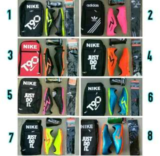Sepatu futsal 1 paket